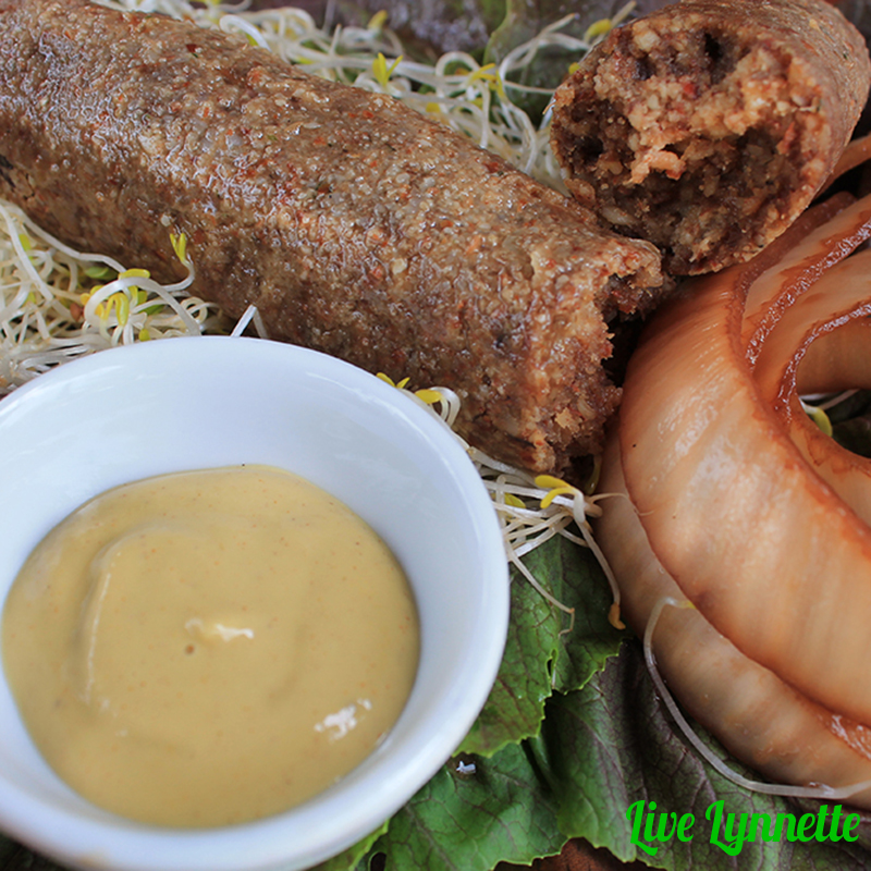 Recipe video meatless bratwurst sausage live lynnette rawvegansausage3 forumfinder Image collections
